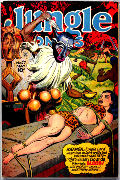 Jungle Comics, 1940.