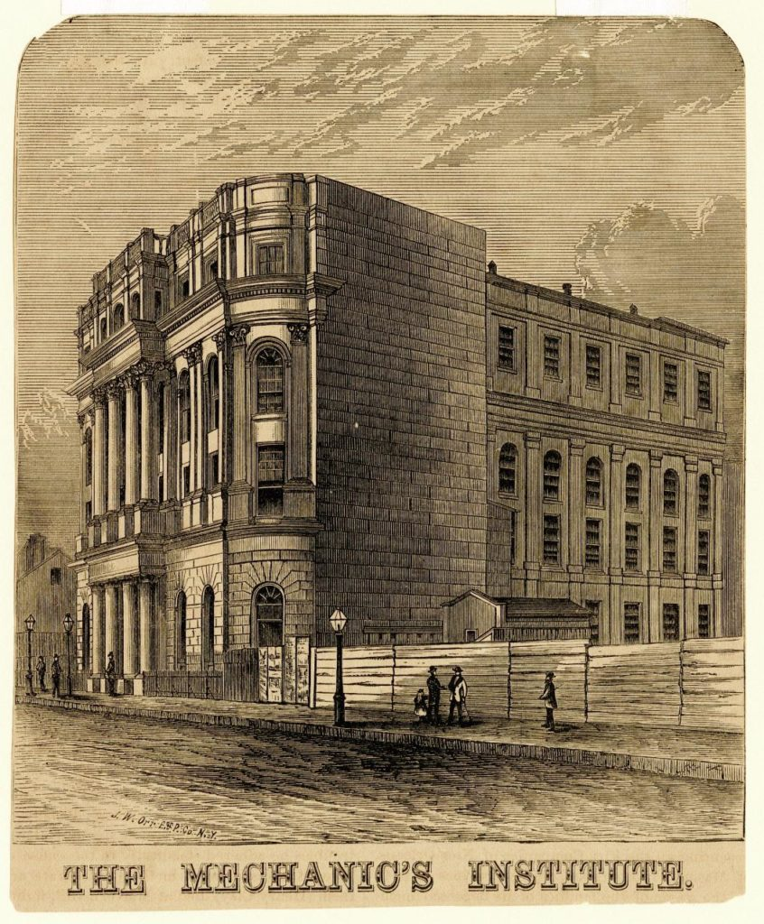 The Mechanics' Institute. The Historic New Orleans Collection. Source: wwno.org.