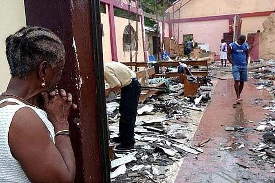 Aftermath of the Bojayá massacre. Photo courtesy of El Espectador.