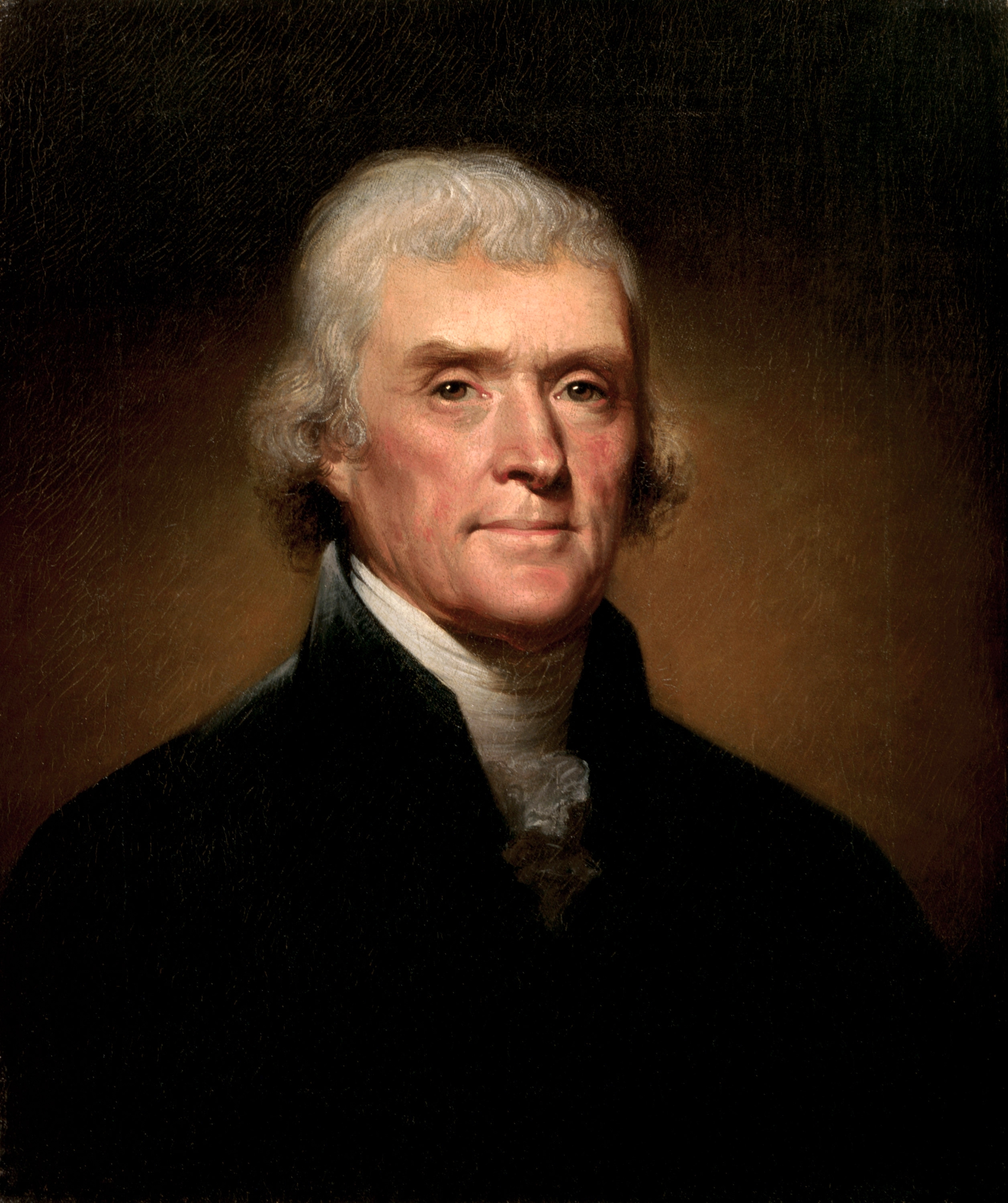 Thomas Jefferson by Rembrandt Peale. Photo credit: Wikimedia Commons