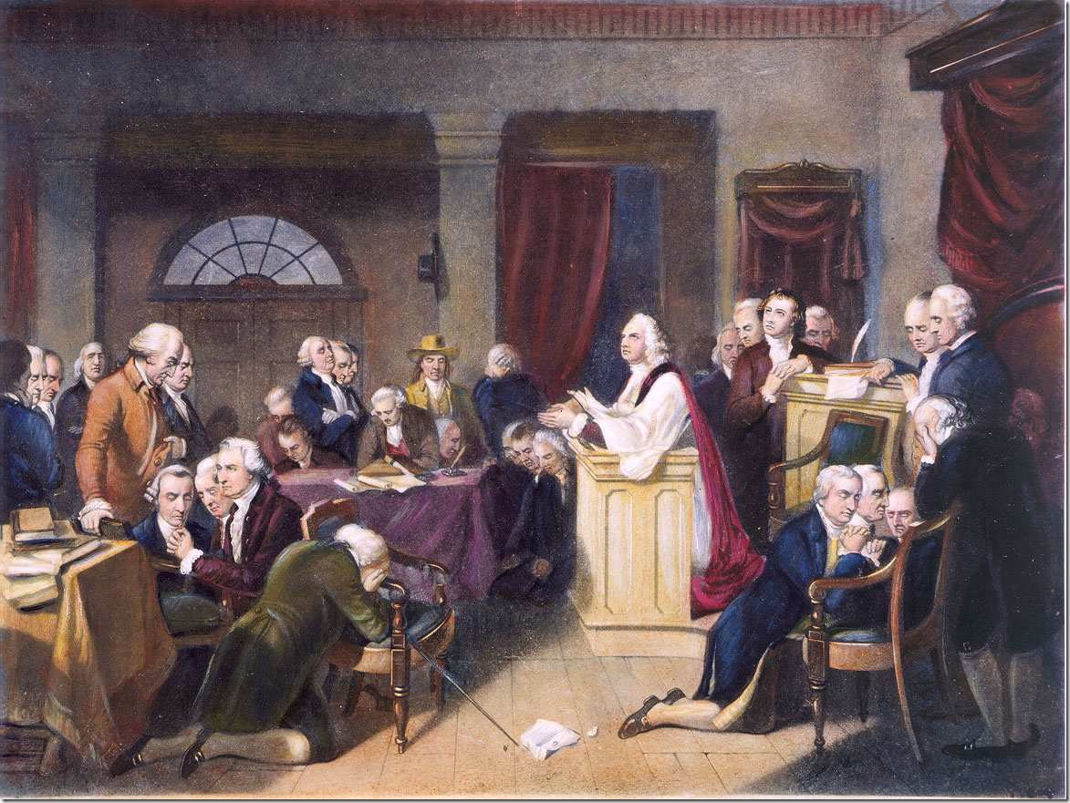 The Constitutional Convention, 1787. Source: Tenth Amendment Center.