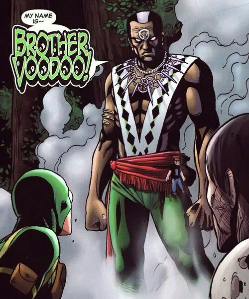 Brother Voodoo. Source: Comics Amino.