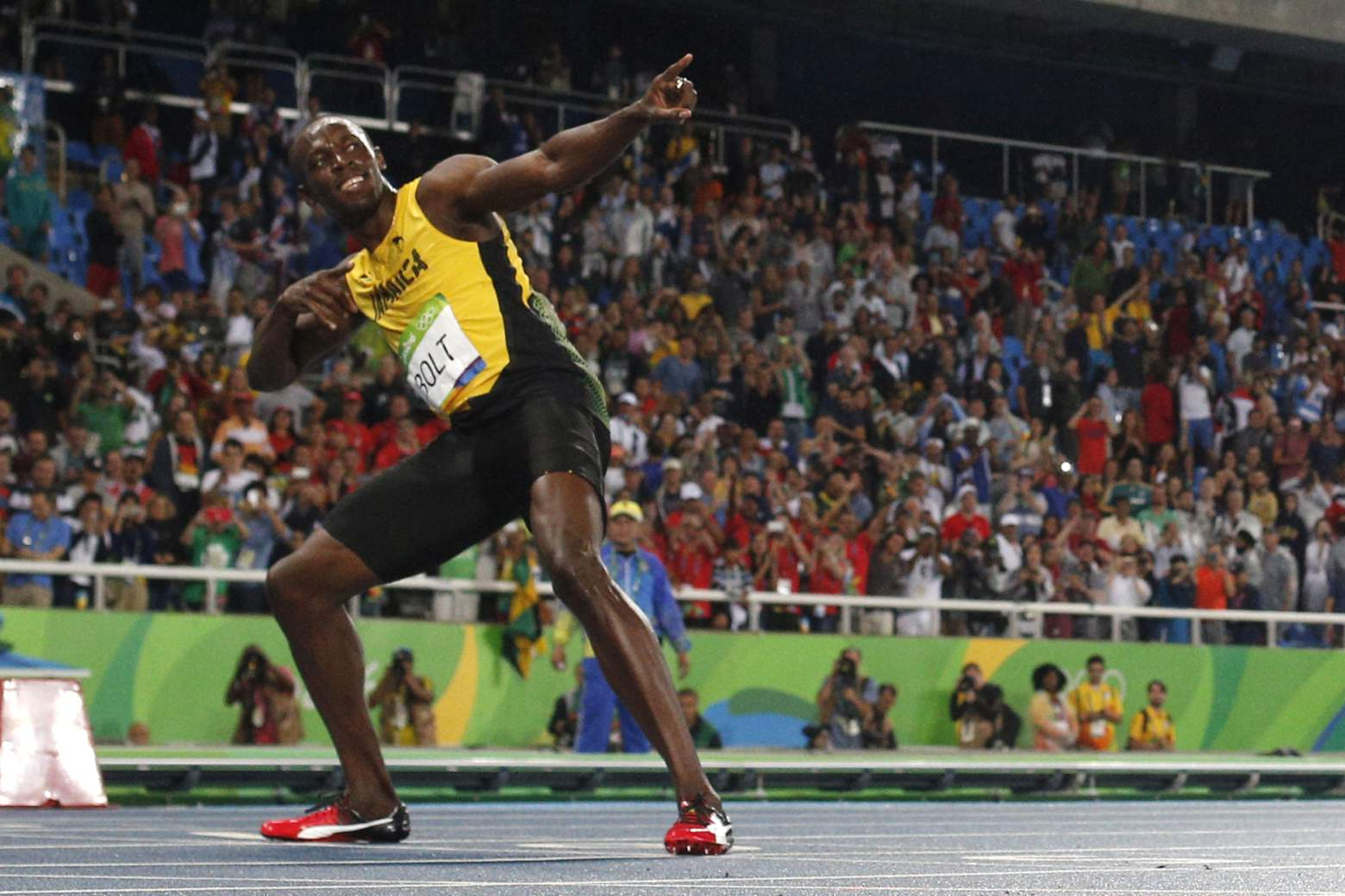 Usain Bolt (Credit: Getty Images)