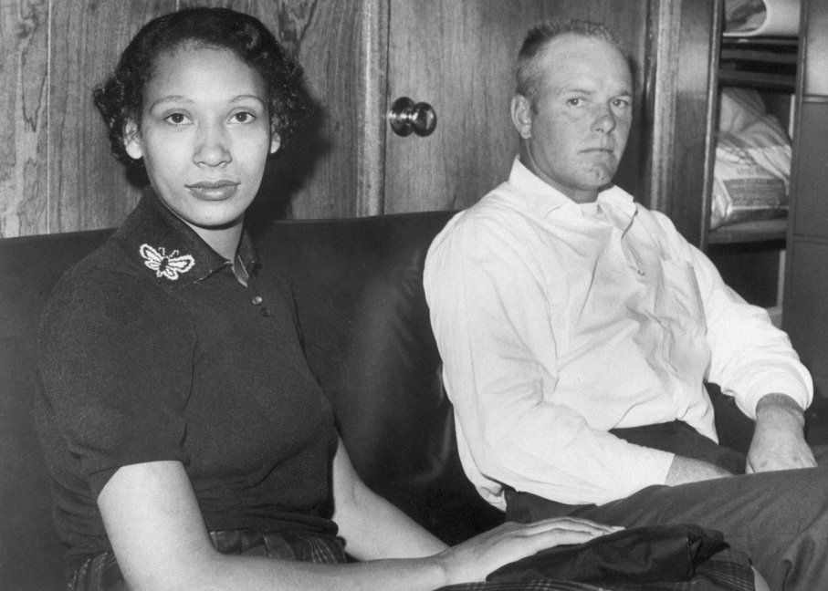 Mildred and Richard Loving on Jan. 9, 1965. Their case had not yet reached the Supreme Court. Image by © Bettmann/CORBIS