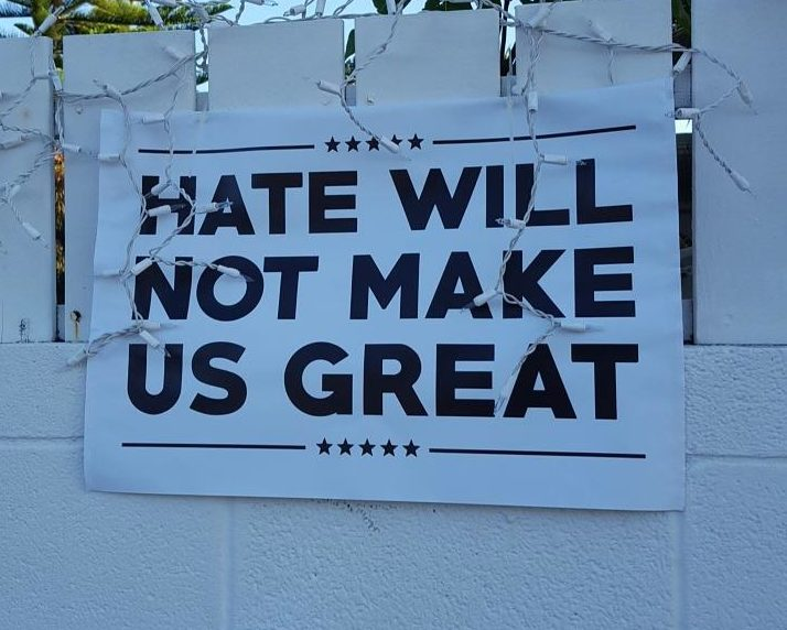 Anti-Hate Poster (Photo Credit: Flickr/Jenni Konrad)