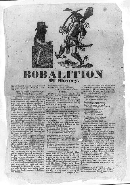 Bobalition of Slavery ([Boston: s.n.] 1832?)