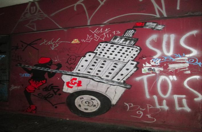 Urban Saçi as a Catadore or Trash Picker (Source: Reighan Gillam)