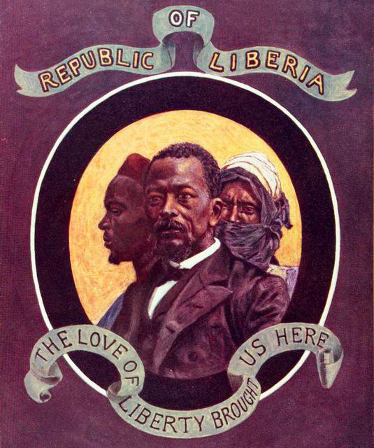 The Shield and Emblem of Liberia, 1906, Liberia Collection (Schomburg Center Research and Reference Division)