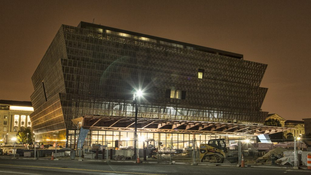 National Museum of African American History and Culture. Source: Smithsonian Newsdesk.