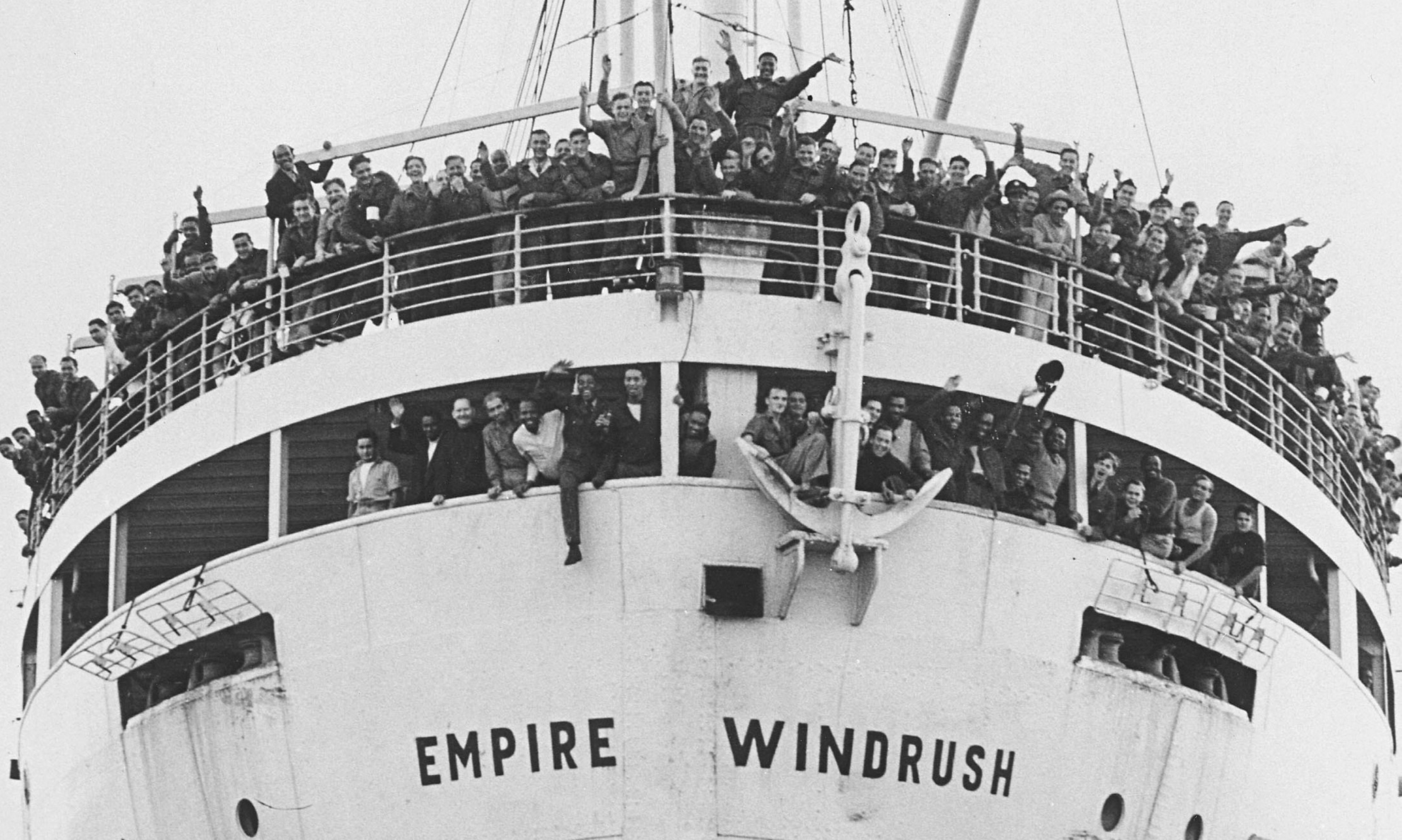 The Empire Windrush Source Caribbean National Weekly