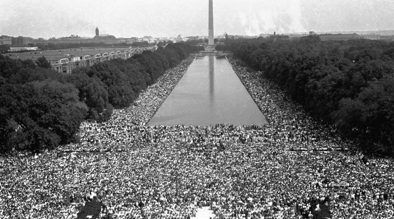 The March on Washington, August 28, 1963. Source: NPR.org.