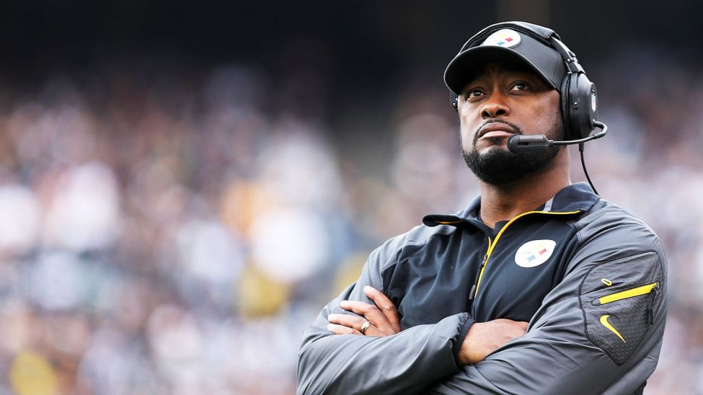 Pittsburgh Steelers coach Mike Tomlin. Source: ESPN.