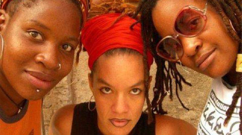 Las Krudas Cubensi, a black queer hip hop group in Cuba. Photo: Hip-Hop Congress.