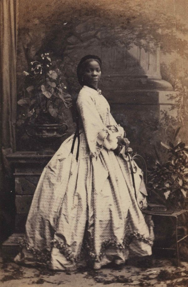 "Fig. 1: Sara Forbes Bonetta, mislabeled as ""Young Harriet Tubman."""
