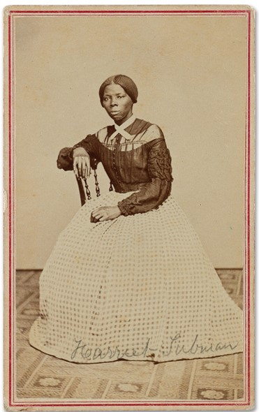 Young Harriet Tubman. Photo: Swann Galleries.