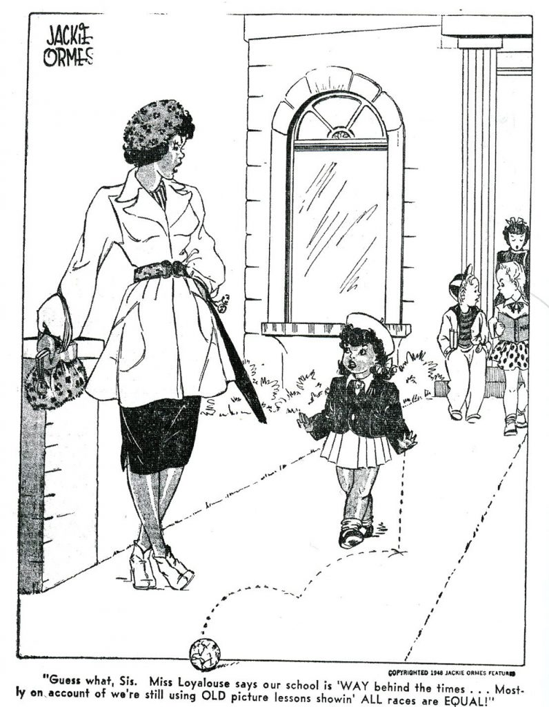 Jackie Ormes, Patty-Jo n' Ginger comic. Photo: baladycreatives.com.
