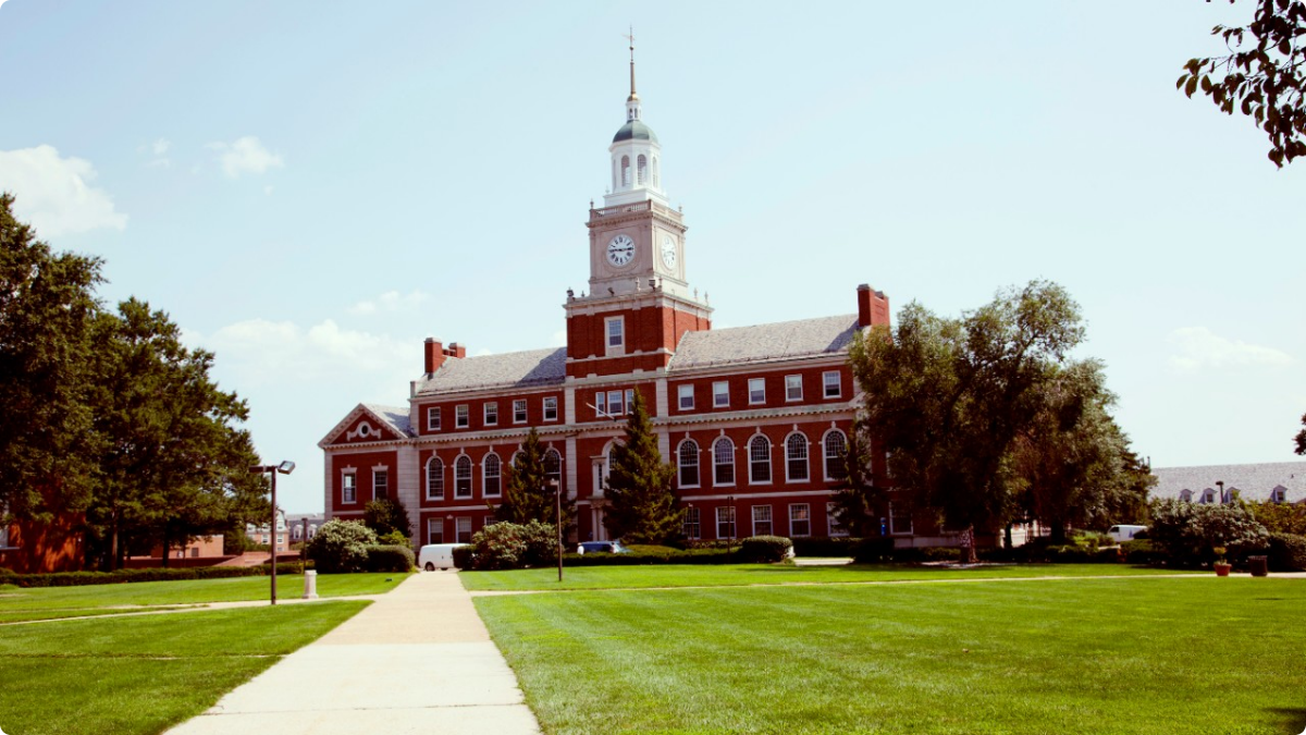 Howard University. Photo: HBCU Buzz.