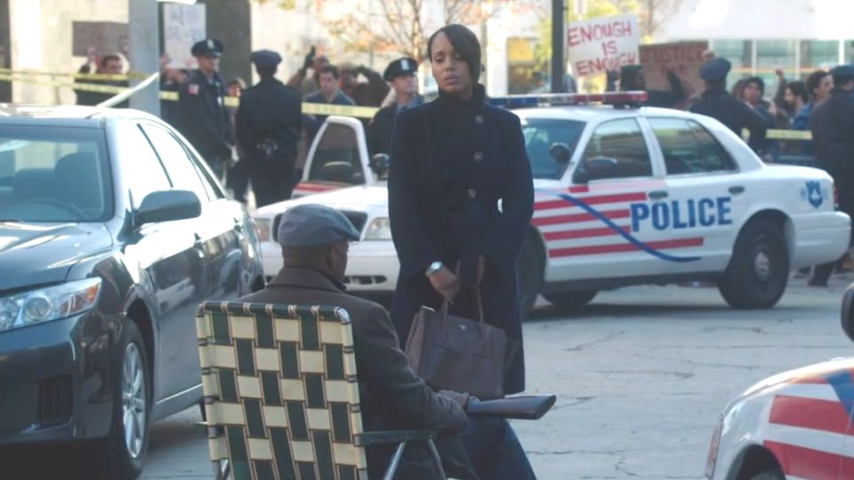 "Scandal episode ""The Lawn Chair."" Photo: Flavorwire."