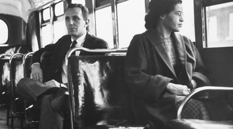 Rosa Parks. Photo: Encyclopedia Britannica.