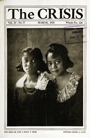 "The image of ""pure and noble-minded women"" as described by W. E. B. Du Bois. Courtesy of The Modernist Journals Project."