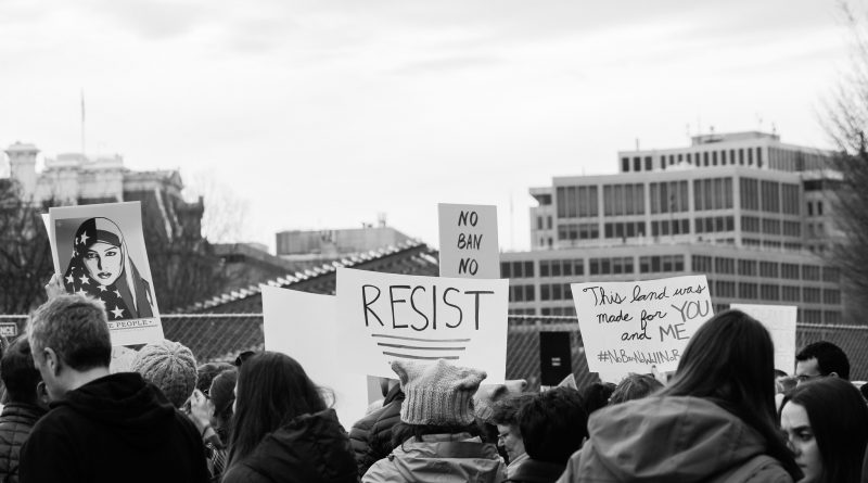 Protest against the Trump administration, February 2017. Photo: Joe Flood/Flickr.