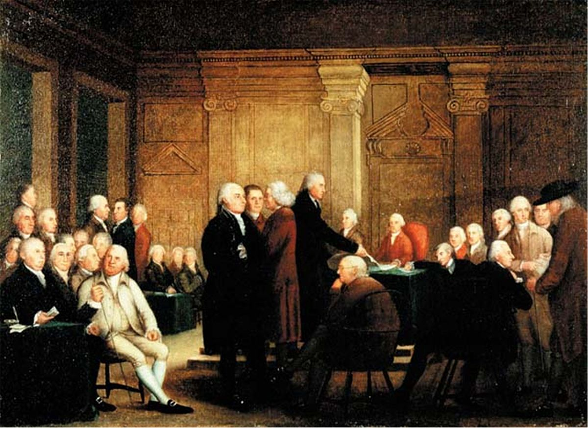 an argument of declaration of independence in america