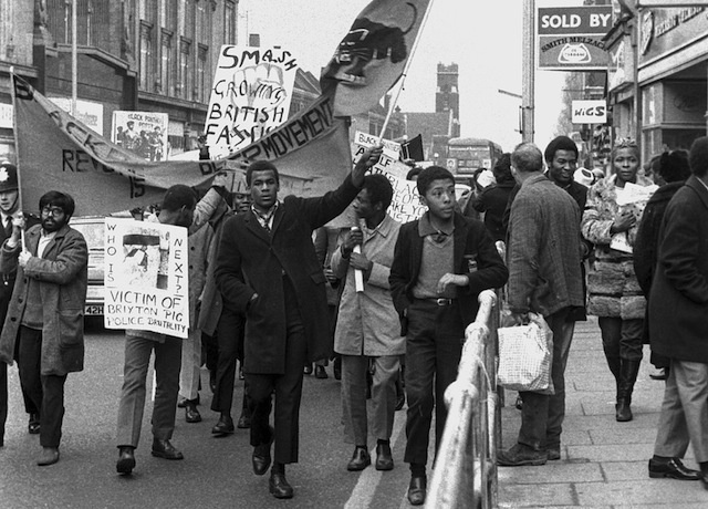 British Black Panther Party. Photo: Neil Kenlock/Vice.