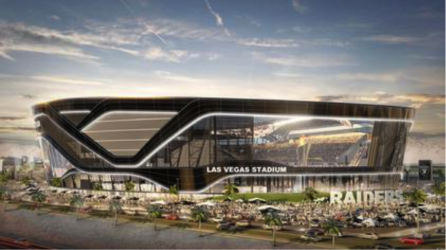Las Vegas Stadium – Future home of the Las Vegas Raiders. Photo: Wikipedia.