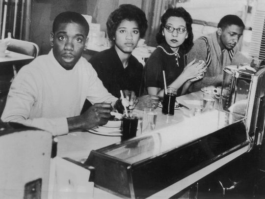 Fisk University students in the 1960s. Photo: Fisk University.