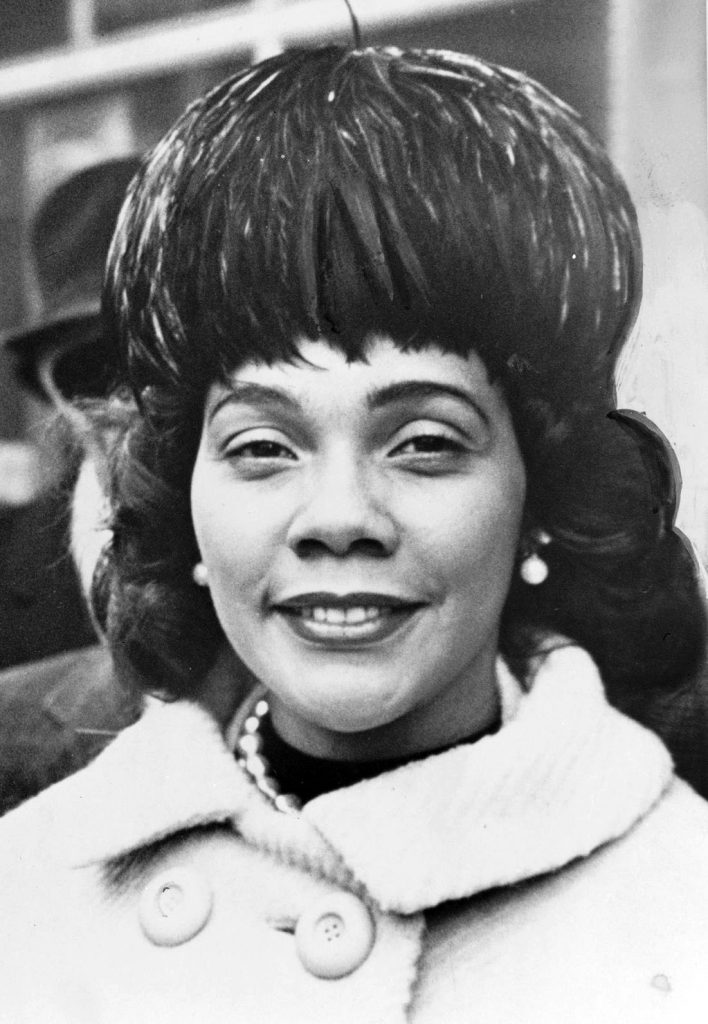 Coretta Scott King, 1964. Photo: Library of Congress.