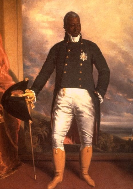 Portrait of Henri Christophe, King of Haiti, Richard Evans, 1816. Photo: Wikimedia.