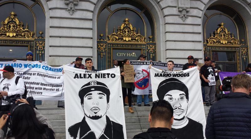 Black-Brown Unity to End Police Impunity rally. Photo: Ray Balberan.