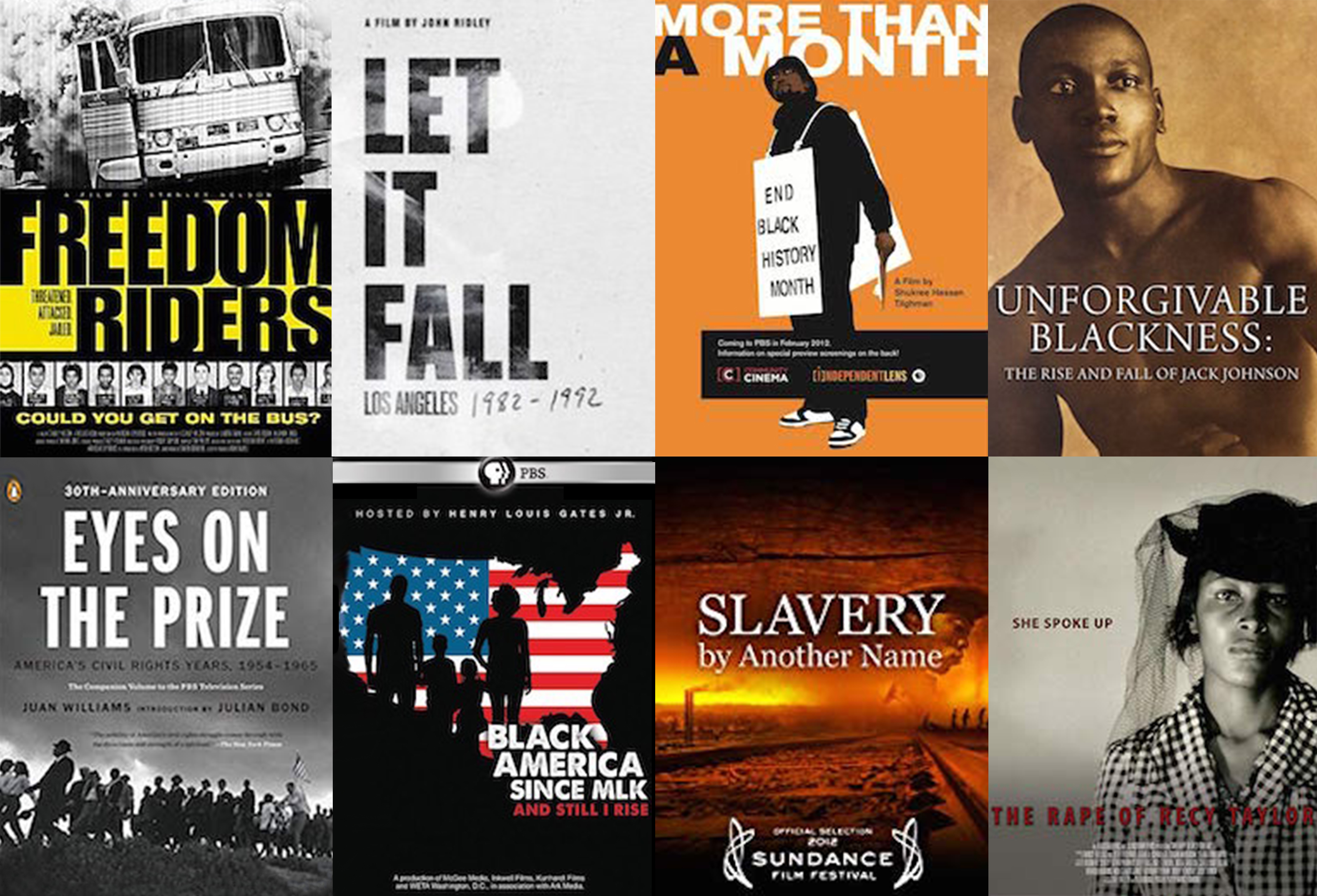 Documentaries for Teaching African American History since 1865